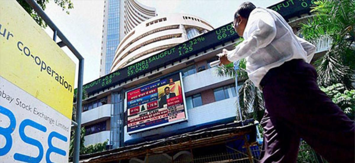 Sensex plunges 239 points amid political wrangling in Karnataka