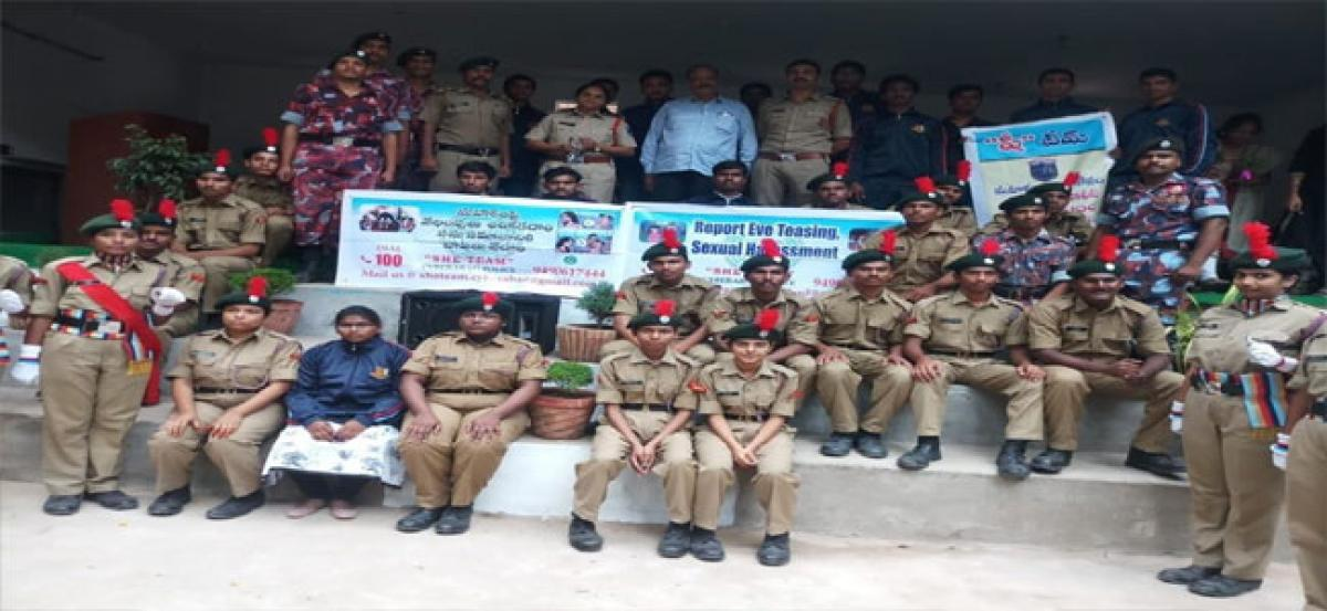She team organises awareness drive in Kukatpally