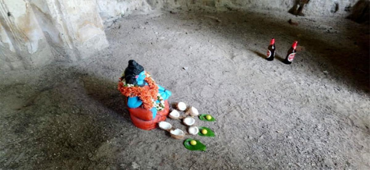 Shiva idol placed in a mosque causes uproar