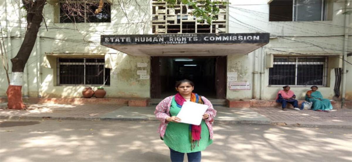 Woman approaches SHRC seeking action against officials