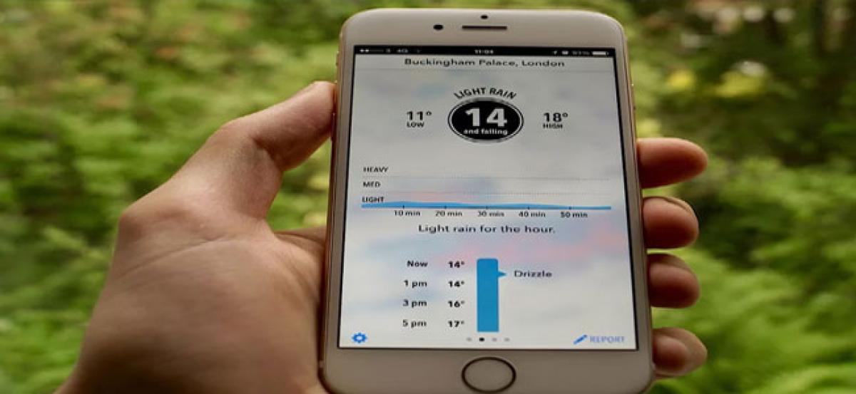 Smartphones may help better predict flash floods