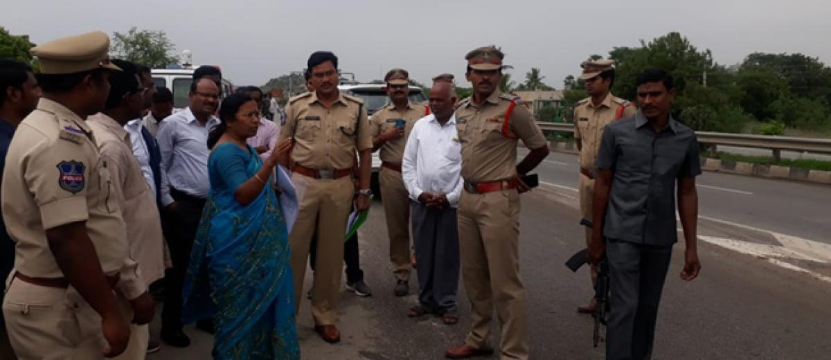 Police told to take steps to prevent accidents on NH 65: Nalgonda SP