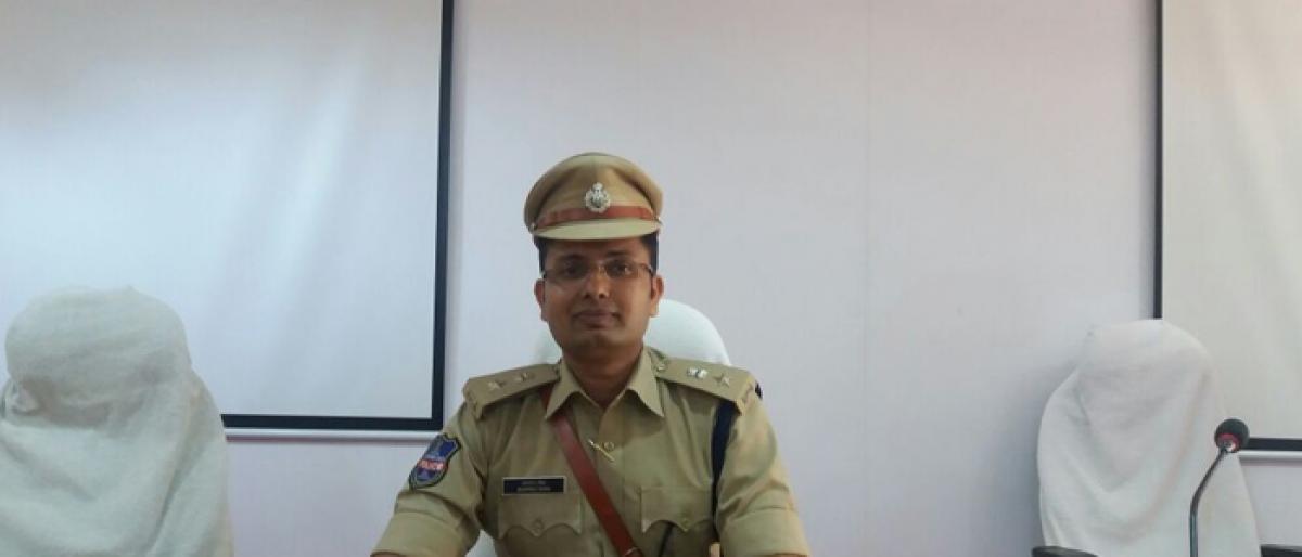Sanpreet Singh is Nagarkurnool SP