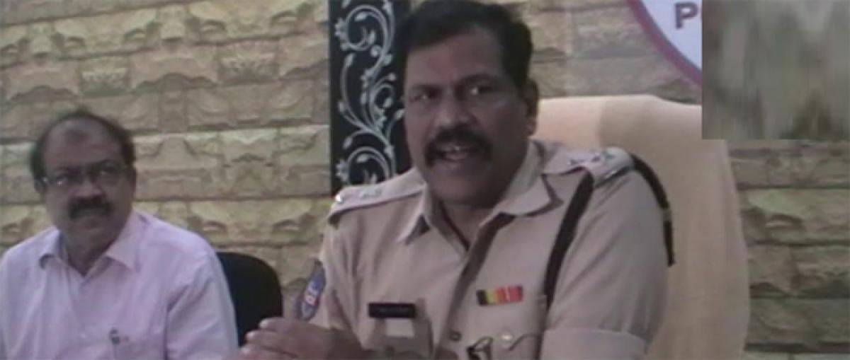 One CC cam equal to 1,000 cops: Superintendent of Police Prakash Jadav