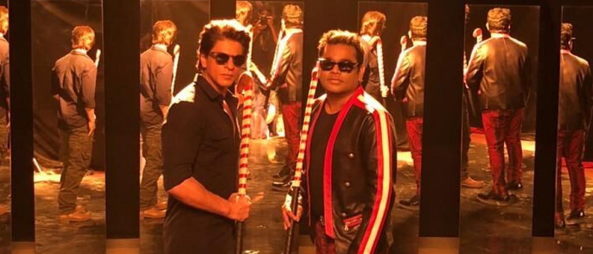 AR Rahman directs SRK for Jai Hind Hind, Jai India