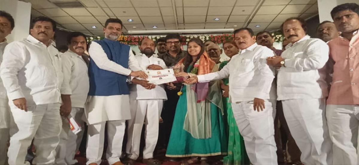 Pratibha purasakams given away