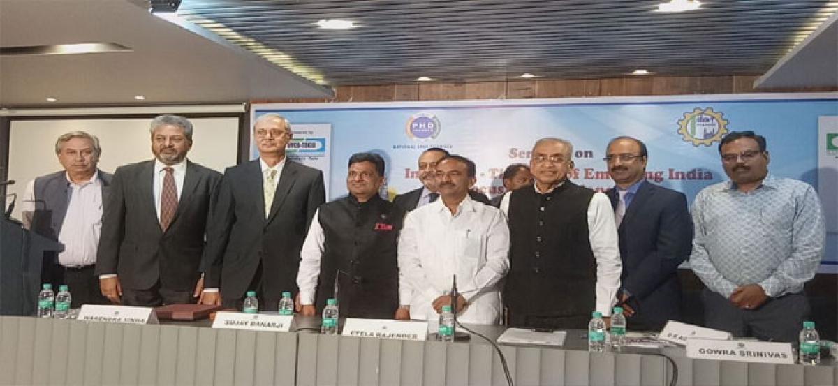 State No1 in development: Etala Rajender