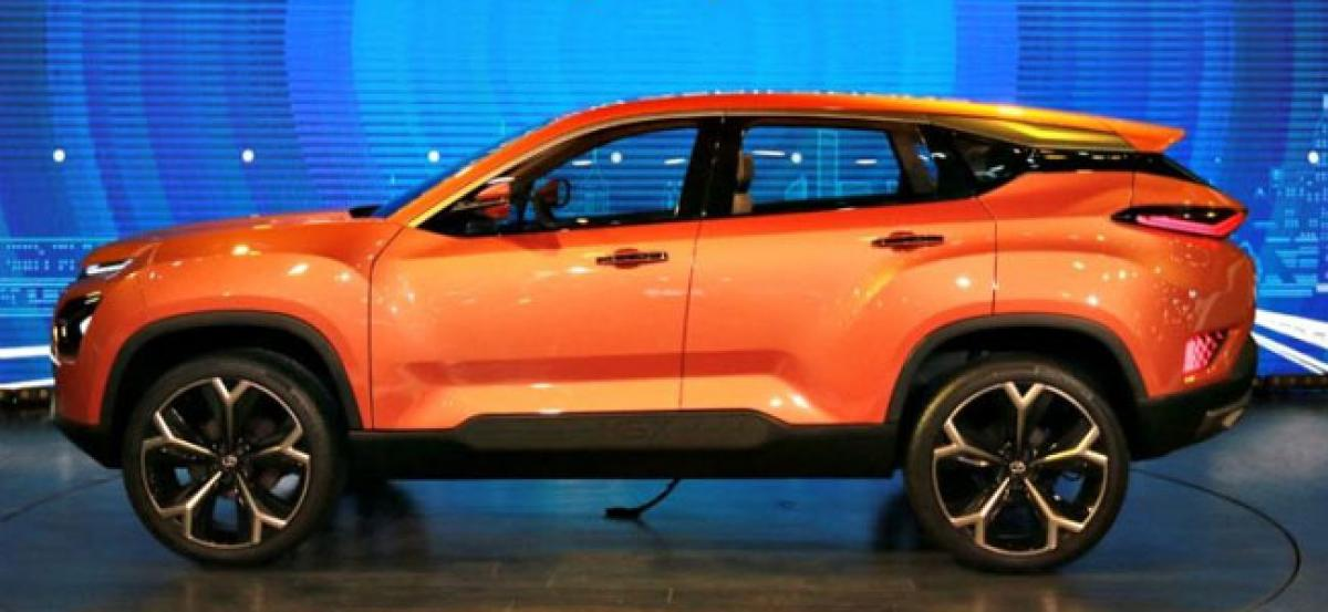 Tata H5X Rumoured To Be Called Harrier; Will Rival Hyundai Creta, Jeep Compass