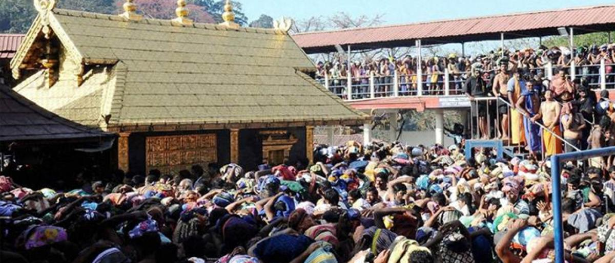 Kerala remains tense on 2nd day of Sabarimala season