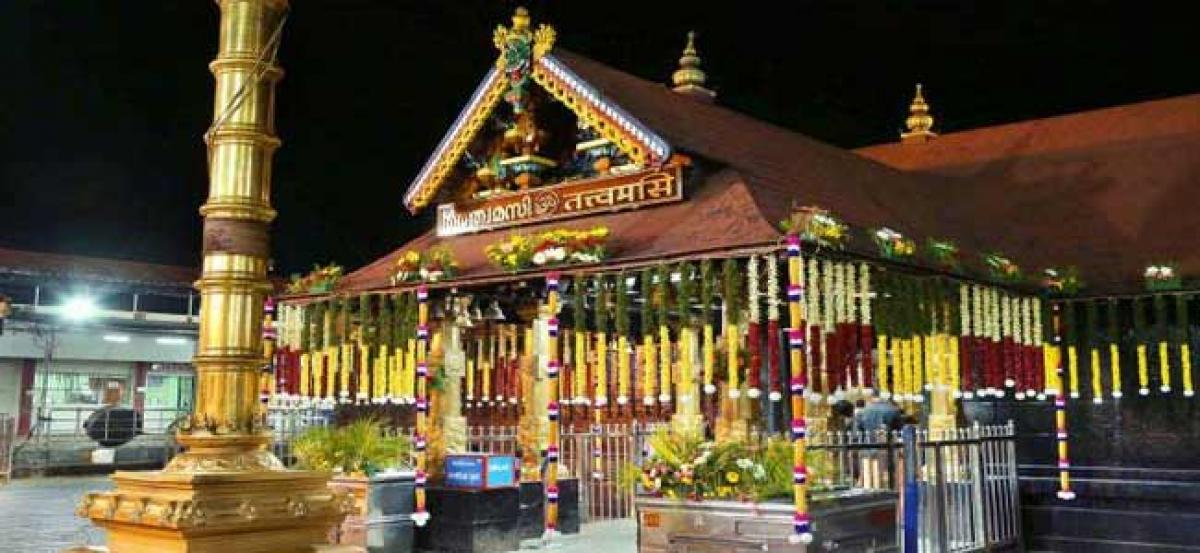 Temple Sabarimala closed down due to massive floods
