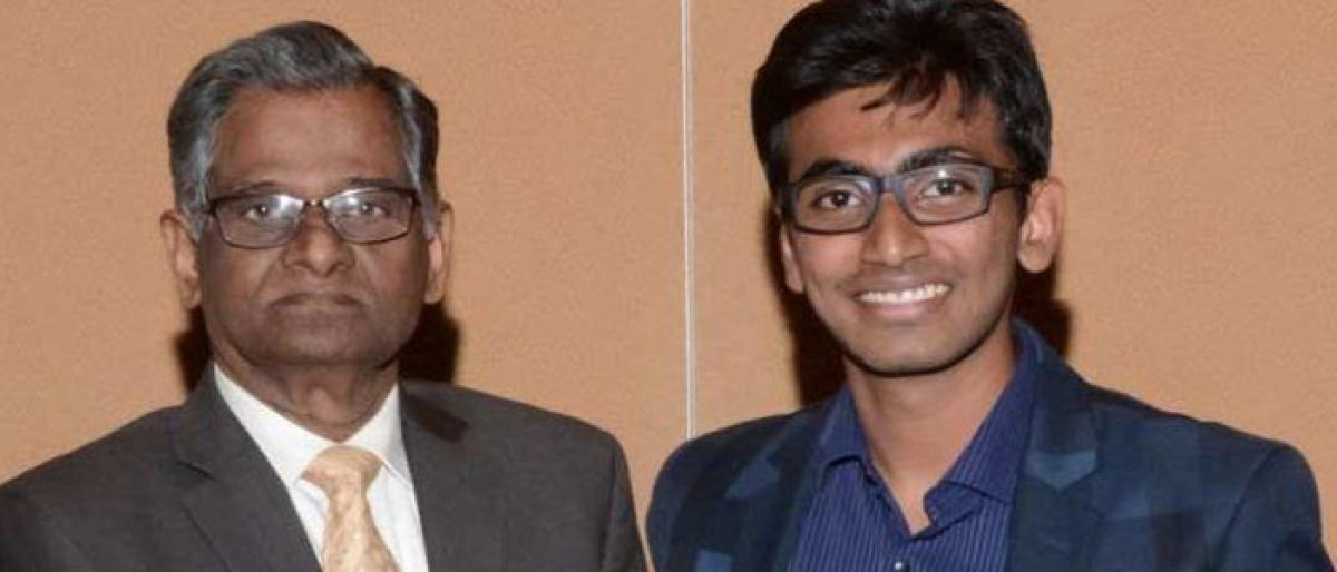 Telugu student creates pace-detecting algorithm