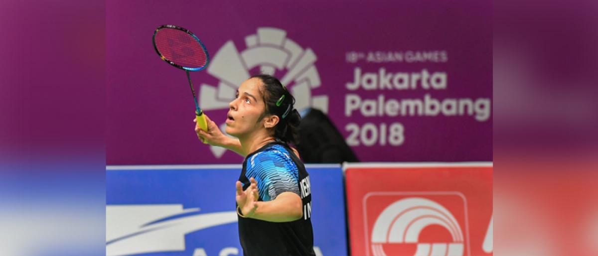 Sindhu sweats, Saina Nehwal soars