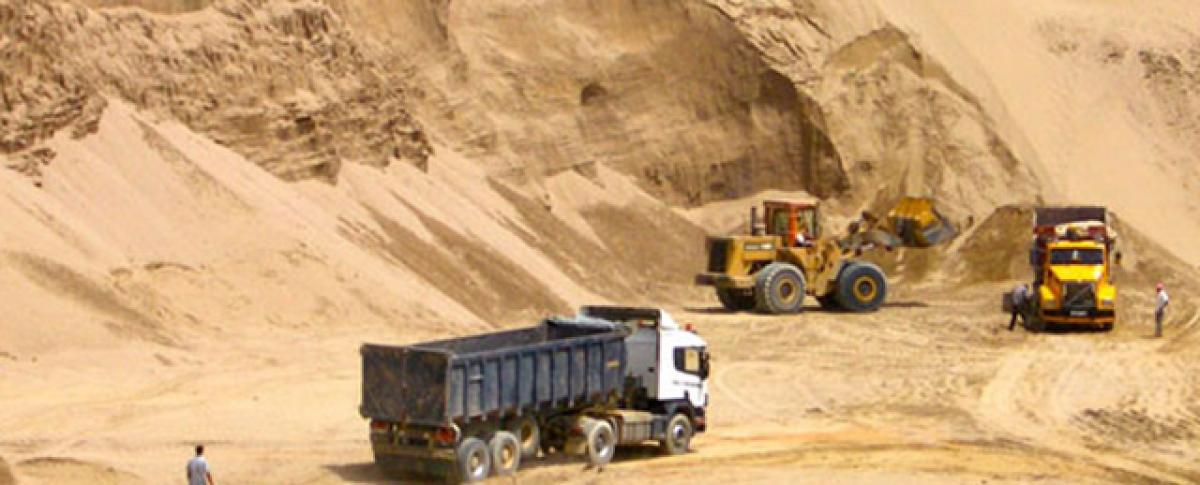 Penalty of 1 lakh for unauthorised sand mining: Rajamahendravaram Sub-Collector