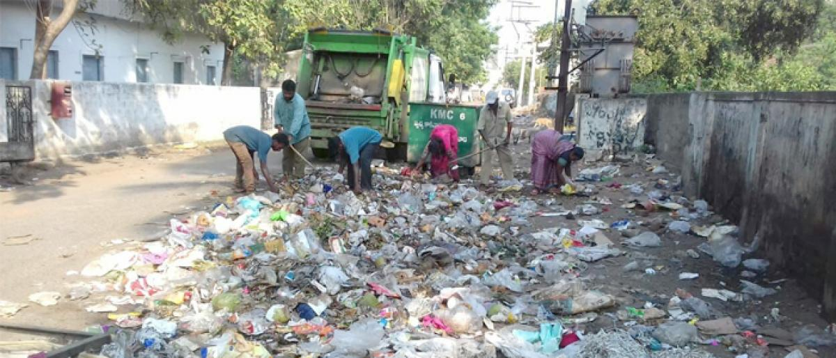 Special sanitation drive launched