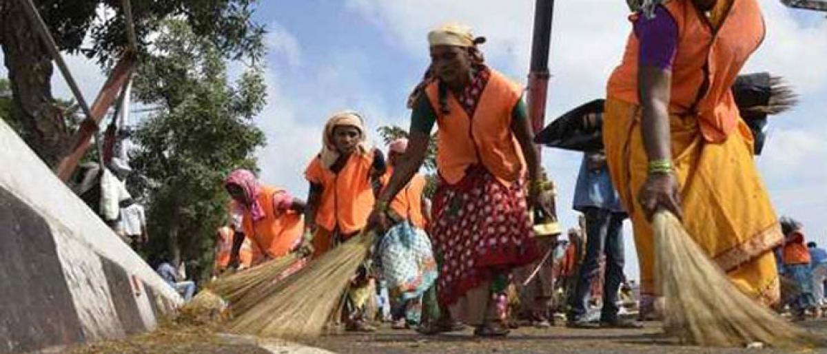 Sanitation strike raises stink to high heavens