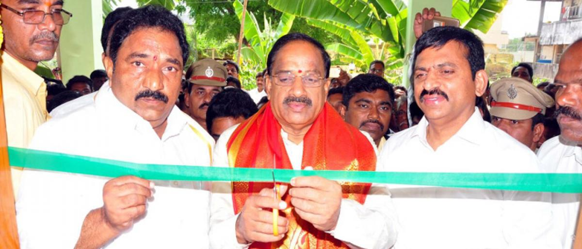 MLA camp office inaugurated in Sattupalli