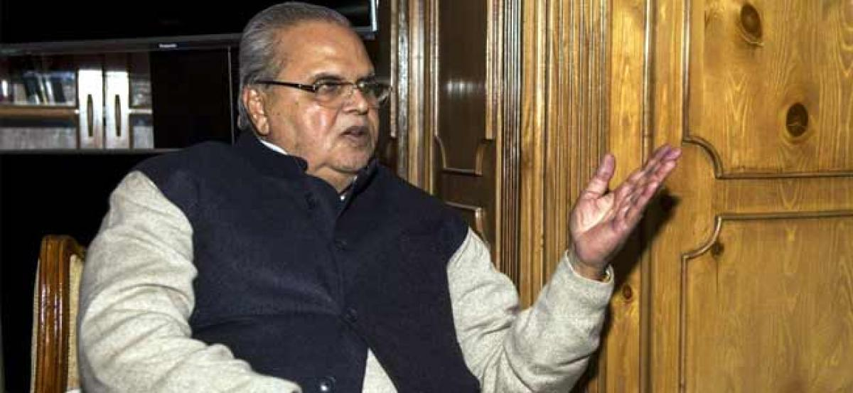 Will try to create atmosphere for holding talks with stakeholders in Kashmir: J-K Governor Satya Pal Malik