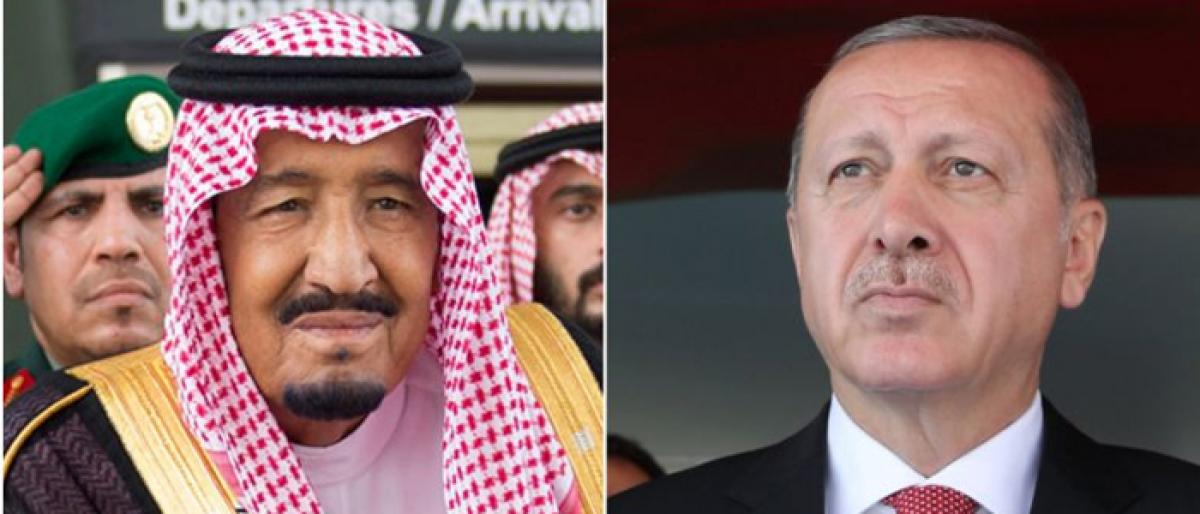 Saudi Arabian King calls Turkish President over journalists disappearance