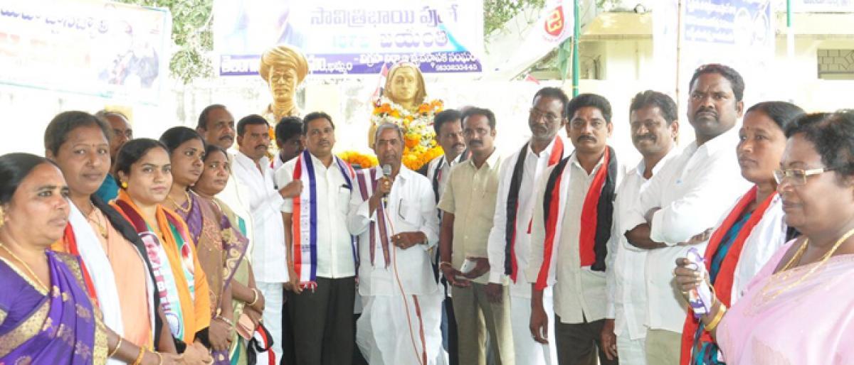 187th jayanti of Savitribai Phule celebrated