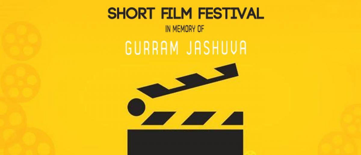 Short film festival In memory of Gurram Jashuva at Chukkapalli Pitchiah auditorium in Vijayawada