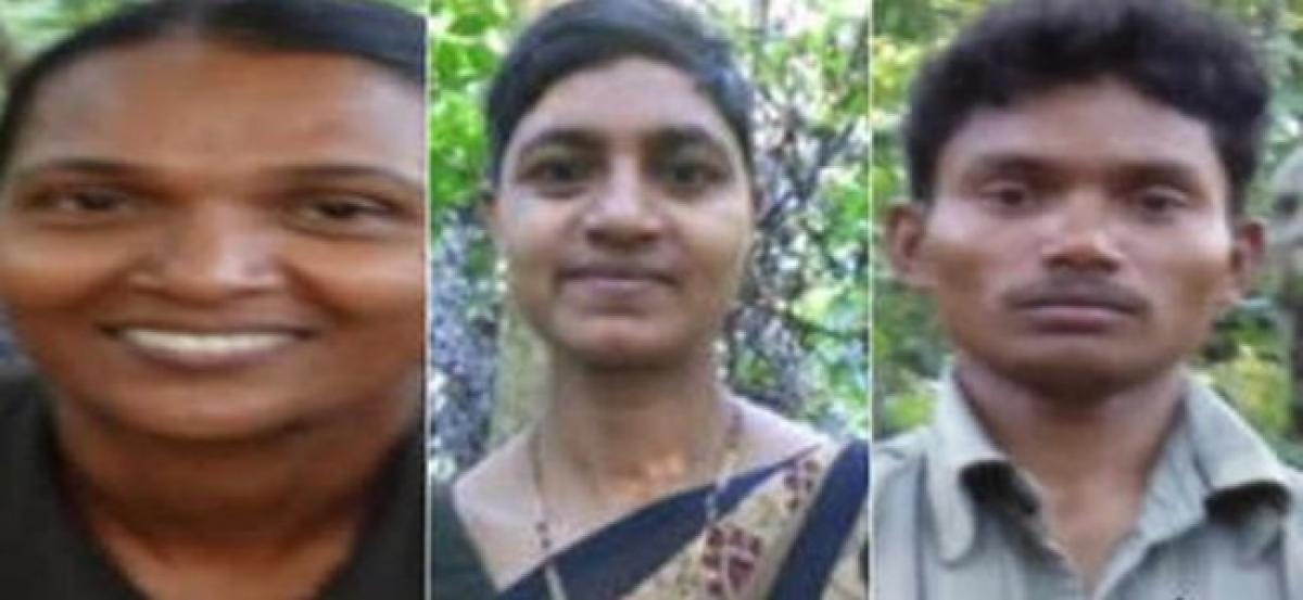 Cops release pictures of 3 maoist suspects in MLA murder case