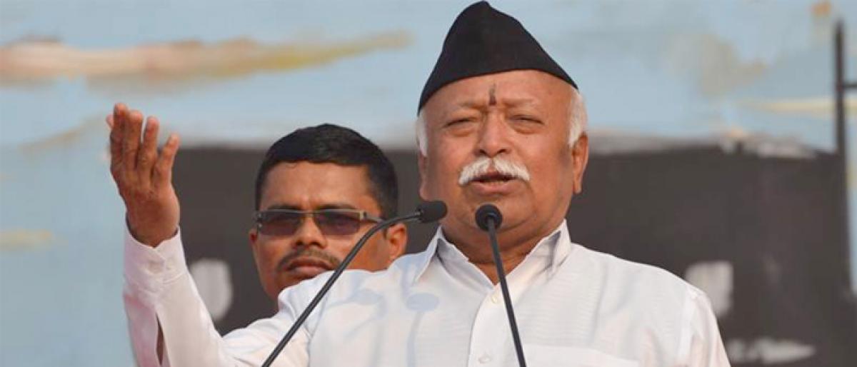 Need to strengthen internal, external security: RSS chief Mohan Bhagwat