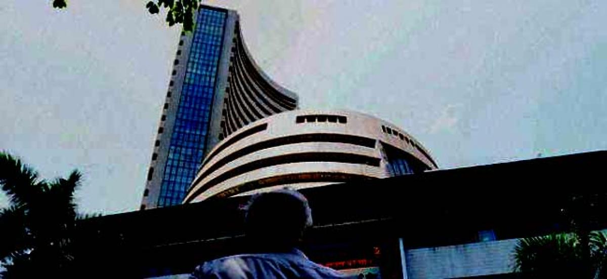 Sensex rises over 100 pts on firm global cues, Nifty tops 10,400