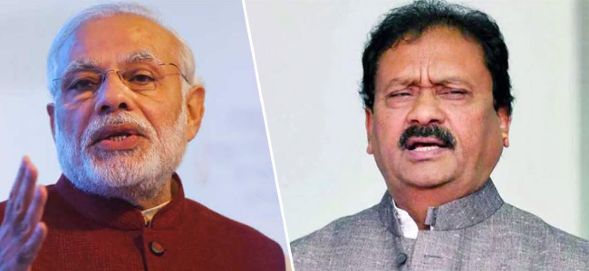 Not visiting Palestine was a diplomatic blunder of PM Modi, says Shabbir Ali