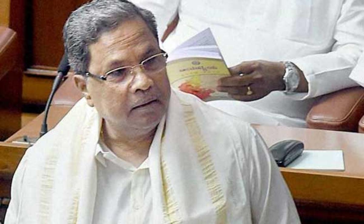Tourist Amit Shah Showed Ignorance About Karnataka, Says Chief Minister Siddaramaiah