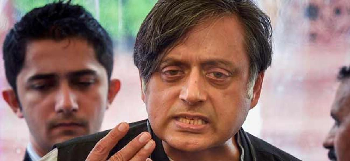 Sabarimala row: Request RSS, BJP and others to not desecrate temple, says Shashi Tharoor