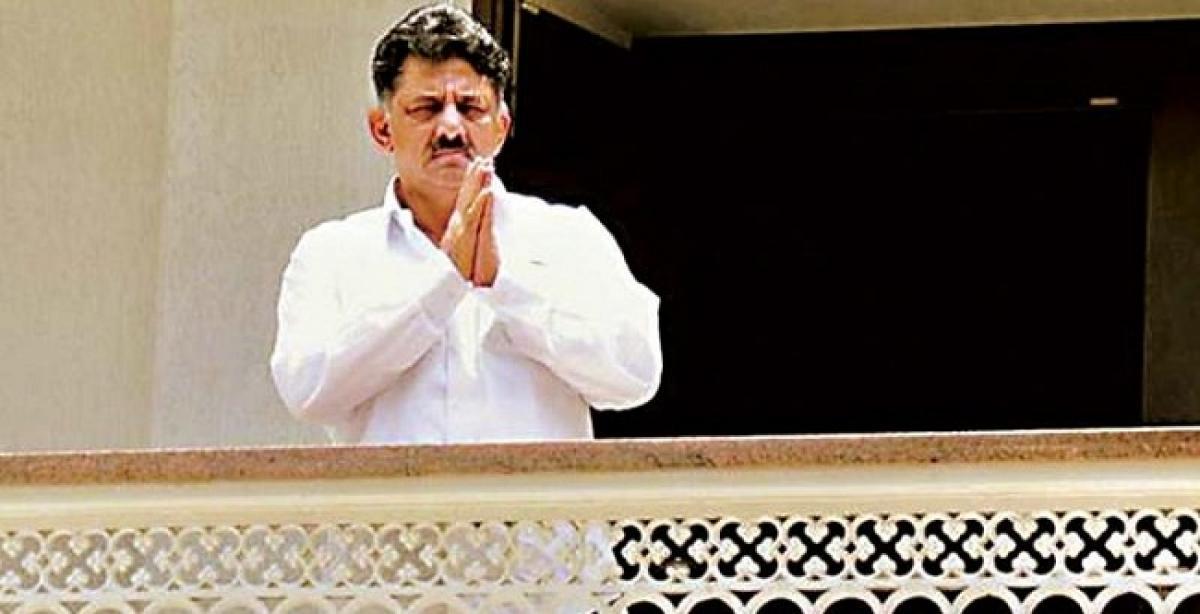 ED files case against Karnataka minister Shivakumar for money laundering