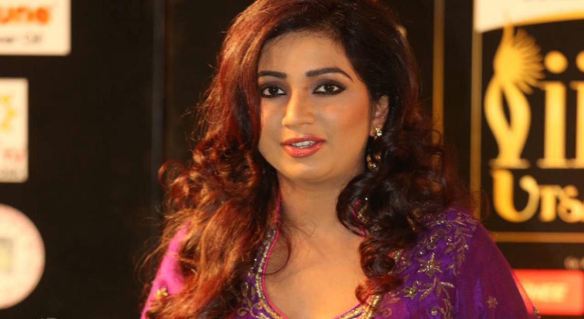 Shreya Ghoshal's first single out