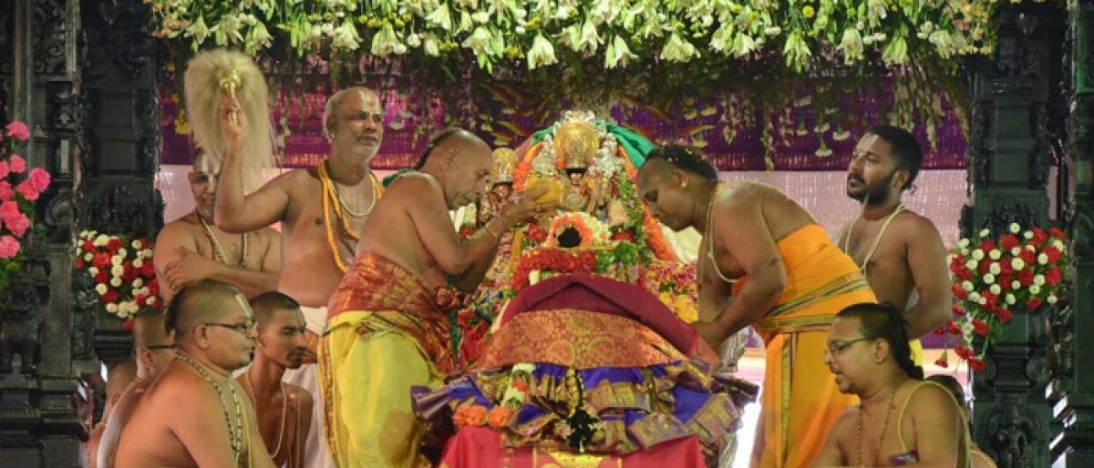 Sita Rama Kalyanam on March 26, priest clarifies