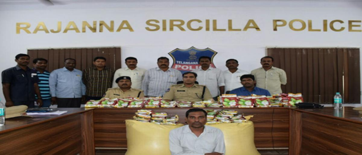 Fake seeds businessman held in Sircilla
