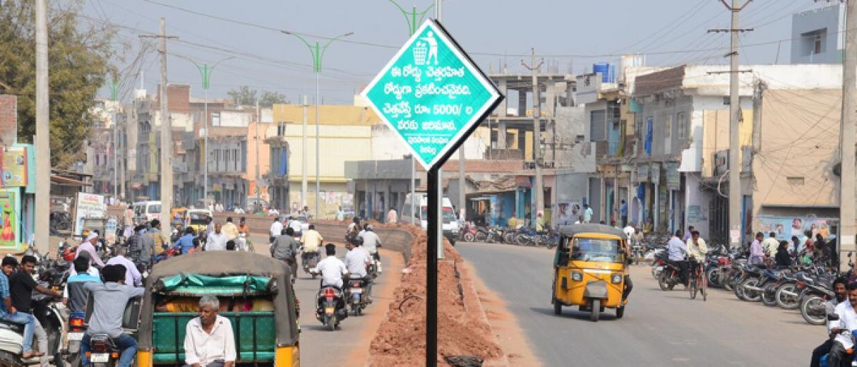 Sircilla roads to be litter-free soon