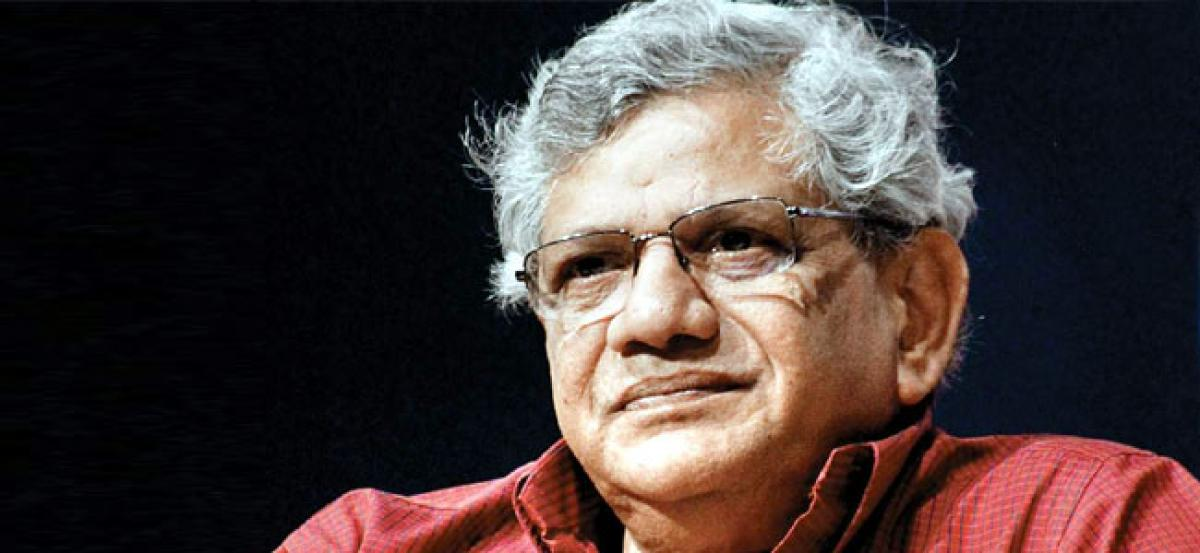 Sitaram Yechury rules out possibility of anti-BJP grand alliance before 2019 polls