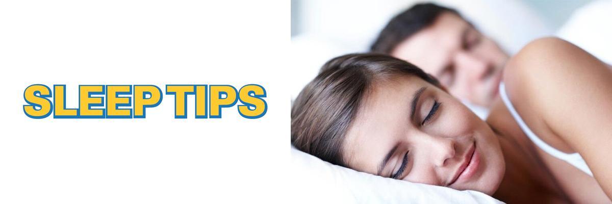 Tips for sound sleep, health