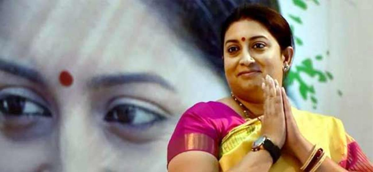 With aid from Smriti Irani, village in Rahuls Amethi to go digital this September