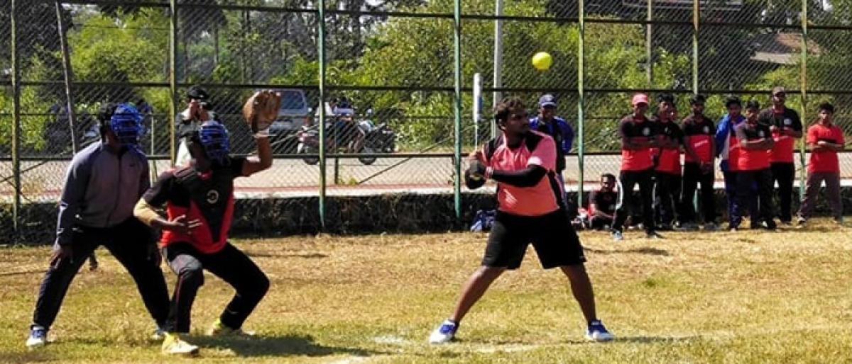 Softball championship in Goa