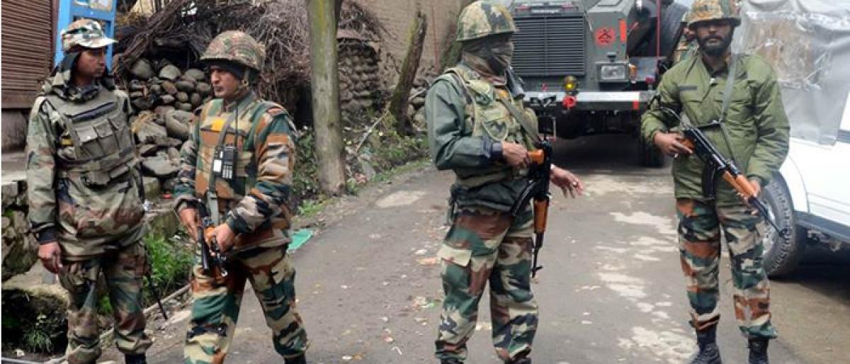 7 soldiers injured in J&K IED explosion