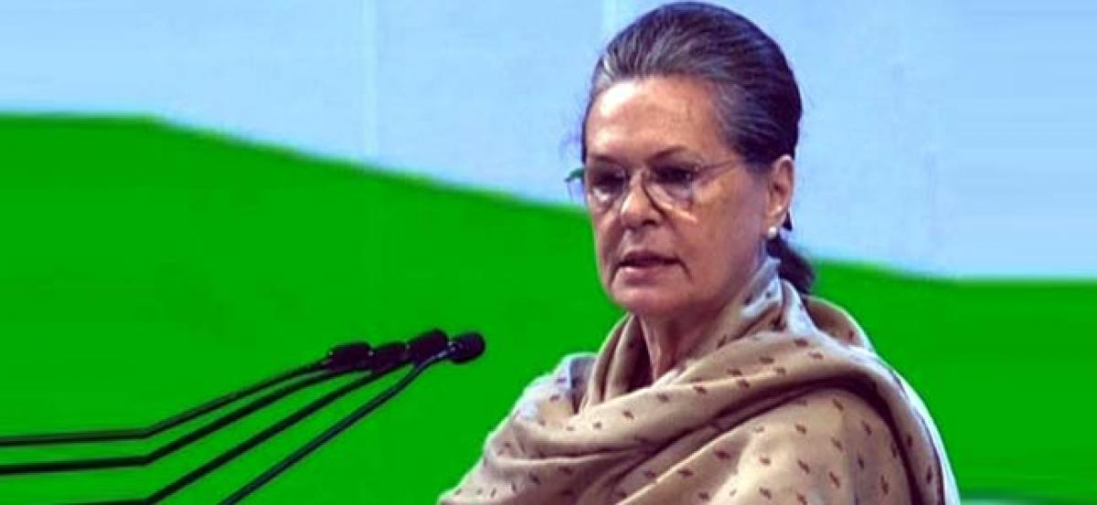 No lack of unity in Opposition, says Sonia