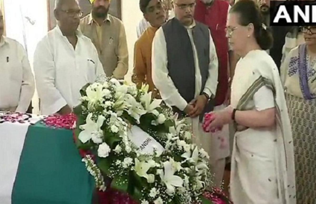Vajpayee ji always stood for democratic values: Sonia Gandhi