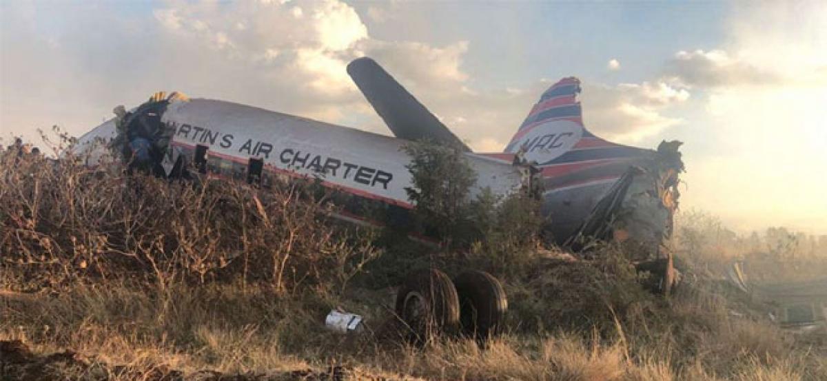 19 injured in South Africa vintage plane crash: emergency services