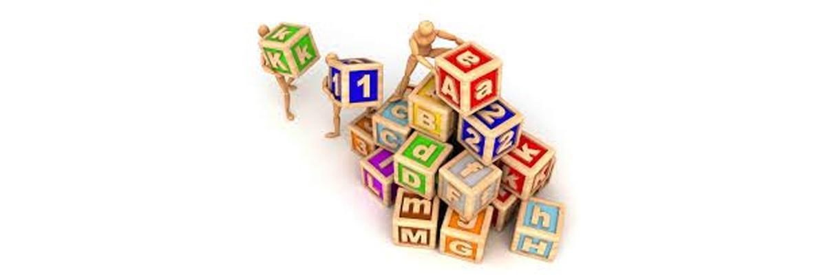 Building blocks of English