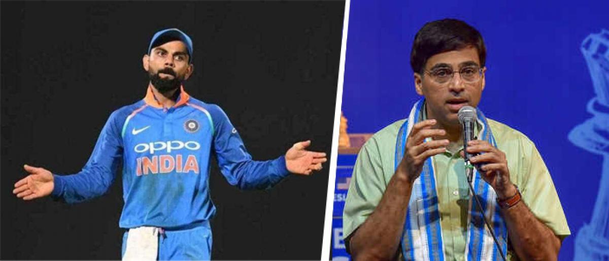 Virat Kohli got a bit emotional and lost control, says Viswanathan Anand