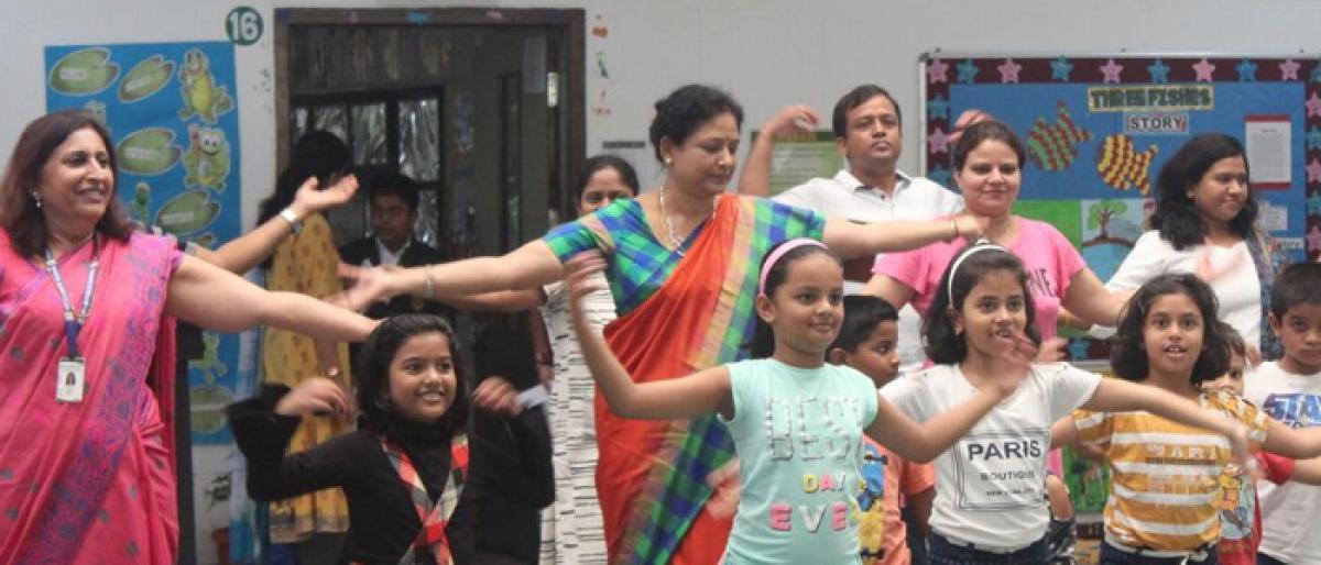 Parents Sports Meet at DPS