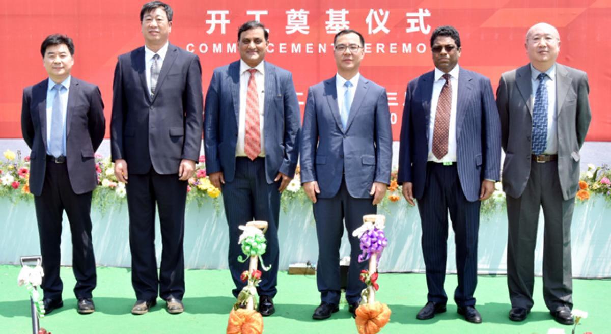 China Electronics Technology Group Corporation breaks ground for solar panel making unit
