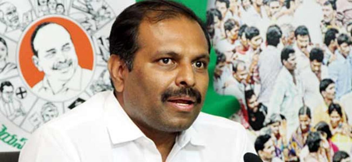 Amaravati bonds, a fraud on AP: Srikanth Reddy