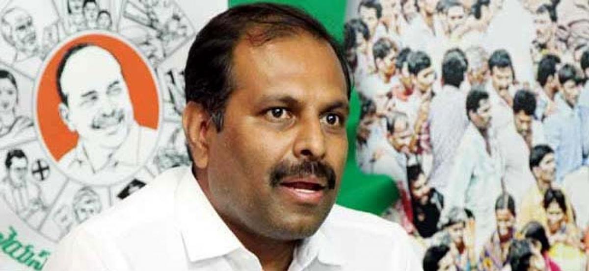 Go for early polls like KCR, YSRCP MLA tells Chandrababu
