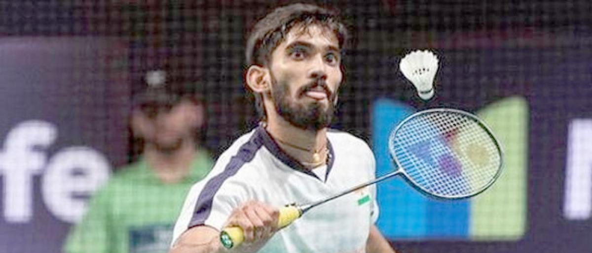 Srikanth slays Lin Dan to reach Denmark Open quartersKidambi